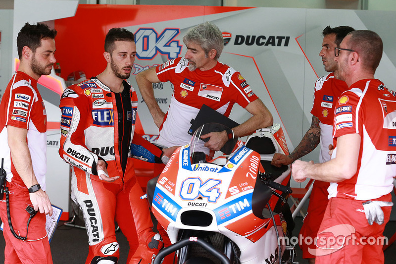 Andrea Dovizioso, Ducati Team, Gigi Dall'Igna, Ducati Team