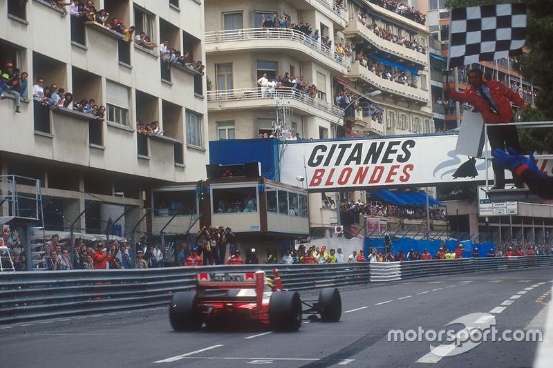 5 место. Гран При Монако-1992