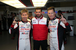 Pole para #7 Toyota Gazoo Racing Toyota TS050 Hybrid: Kamui Kobayashi, Jose Maria Lopez, Mike Conway