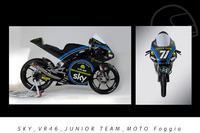 Dennis Foggia, Sky VR46 Junior Team