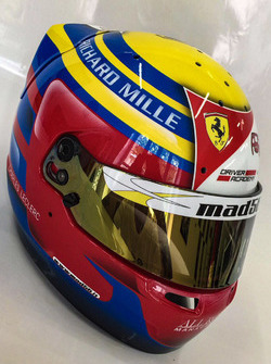 Helmet of Charles Leclerc, PREMA Powerteam