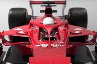 Halo-Designstudie am Ferrari SF70H