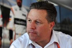 Zak Brown, directeur exécutif McLaren