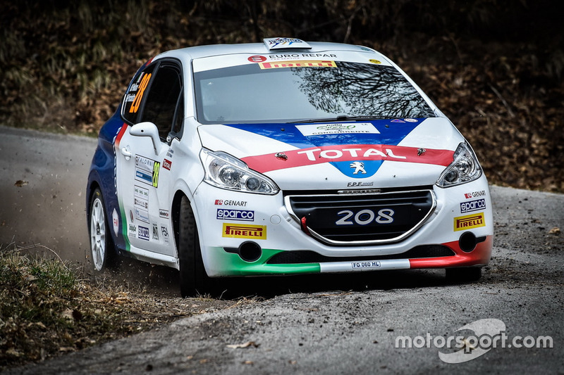 Trofeo Peugeot Competition 208 Top