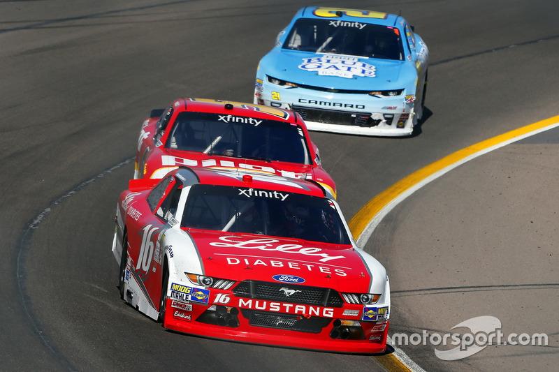 Ryan Reed, Roush Fenway Racing, Ford; Michael Annett, JR Motorsports, Chevrolet