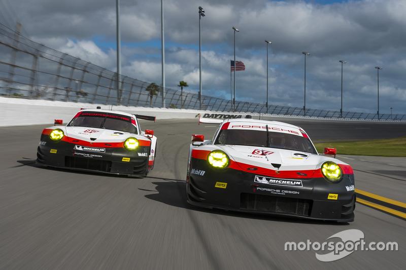 #911 Porsche Team North America, Porsche 911 RSR: Patrick Pilet, Dirk Werner, Frederic Makowiecki; #