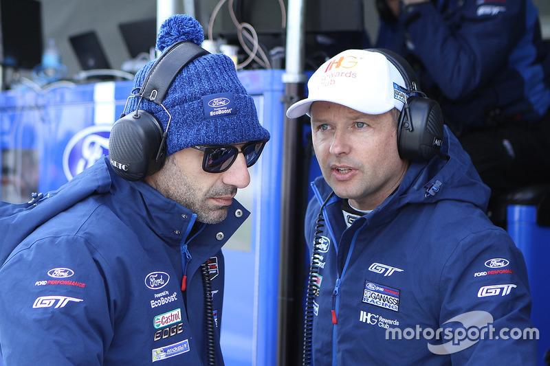 Tony Kanaan, Andy Priaulx, Chip Ganassi Racing Ford GT