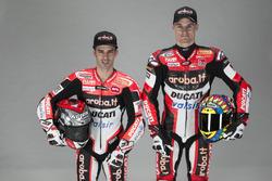 Marco Melandri and Chaz Davies, Ducati Team