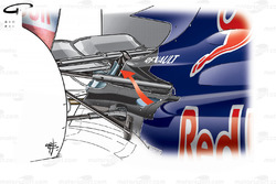Red Bull RB5 2009 rear-end exhaust airflow