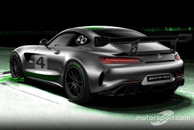 Mercedes-AMG GT4 açıklaması