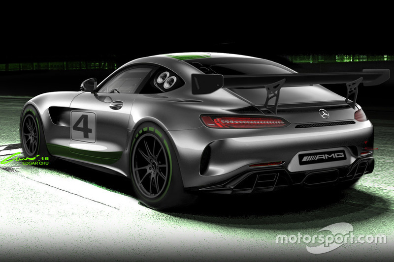 Mercedes-AMG GT4 announcement