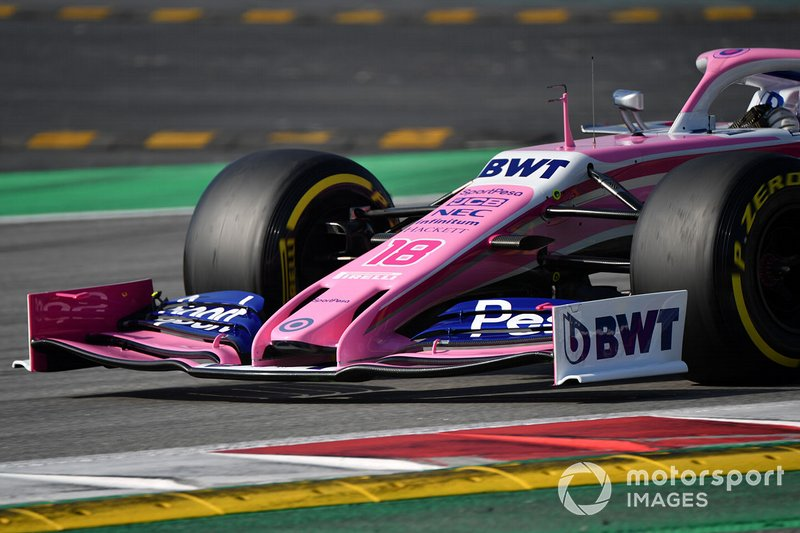 Racing Point F1 Team RP19 nose and front wing