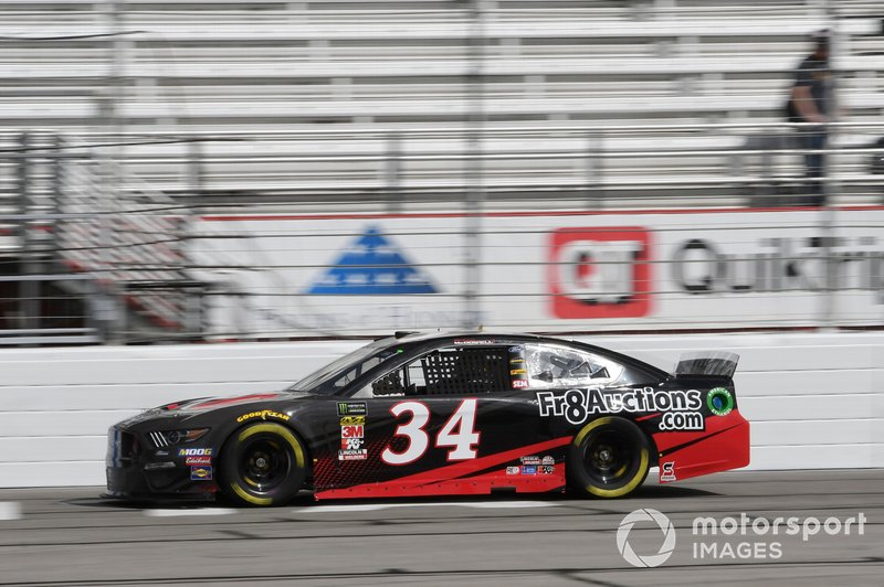 12. Michael McDowell, Front Row Motorsports, Ford Mustang FR8 Auctions