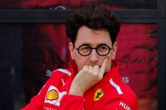 Mattia Binotto, Ferrari Team Principal