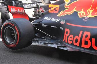 Fond plat de la Red Bull Racing RB14