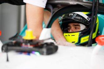 Tom Dillmann, NIO Formula E Team, NIO Sport 004 in the garage