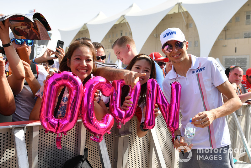 Естебан Окон, Racing Point Force India, уболівальники