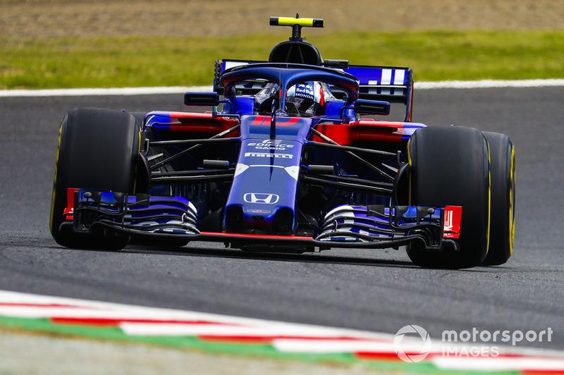 7: Pierre Gasly, Scuderia Toro Rosso STR13, 1:30.093