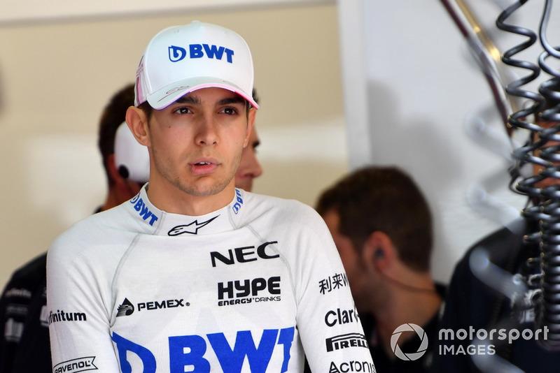 9º Esteban Ocon: 27 puntos (pierde cuatro posiciones respecto a 2017)