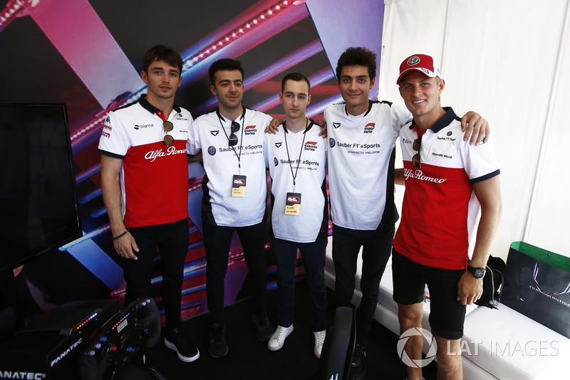 Шарль Леклер, Маркус Ерікссон, Sauber F1 Team