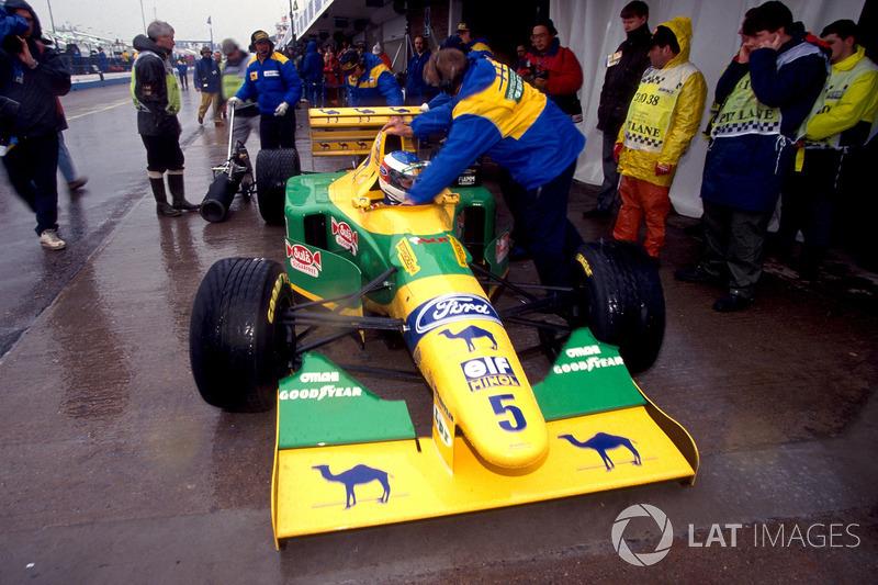 Michael Schumacher, Benetton Ford B193B