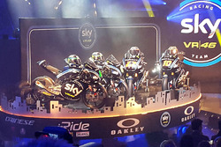 Sky Racing team bikes