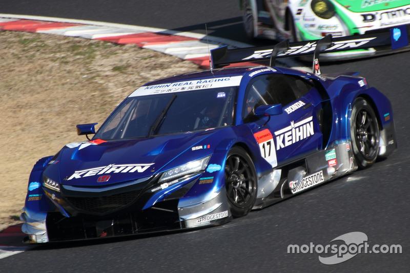 Коудаи Цукакоши и Такаши Когуре – Real Racing, №17 (Honda NSX-GT)