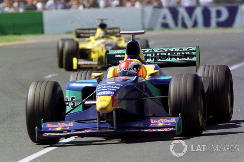 Johnny Herbert, Sauber ve Damon Hill, Jordan