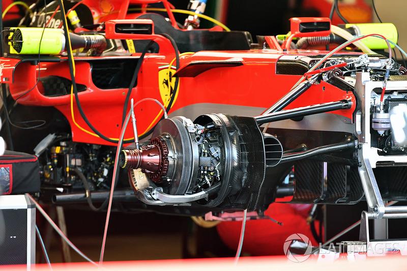 Ferrari SF71H ön teker detay