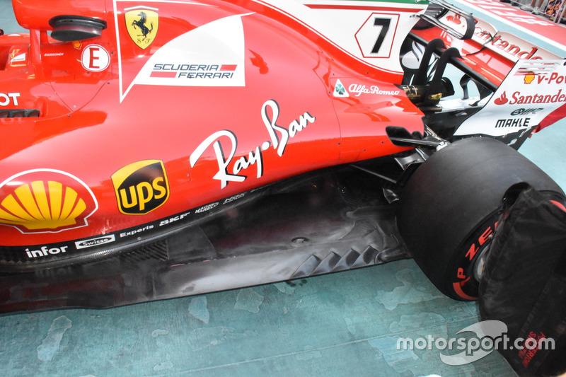 Ferrari SF70H : vue latérale