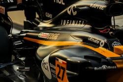 The car of Nico Hulkenberg, Renault Sport F1 Team RS17