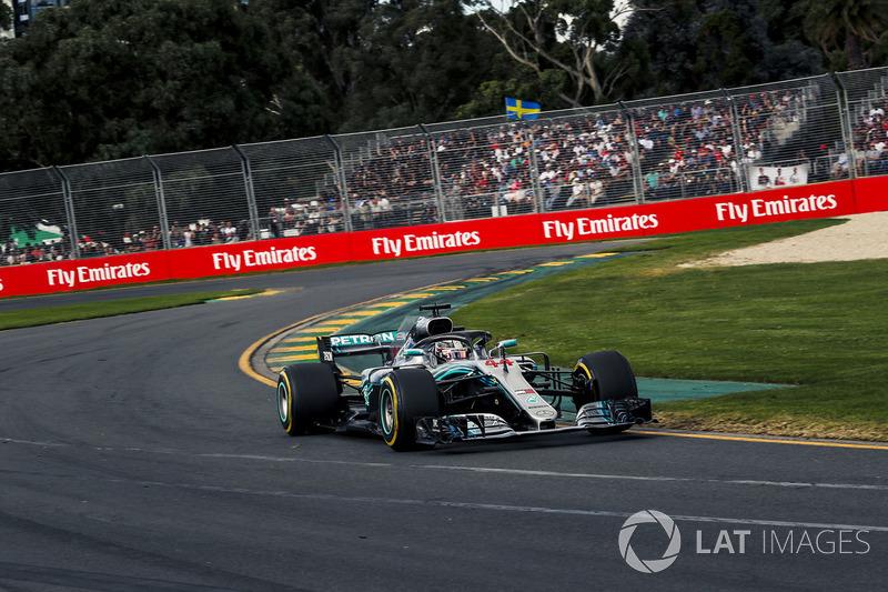 Australia 2018: Lewis Hamilton, Mercedes-AMG F1 W09