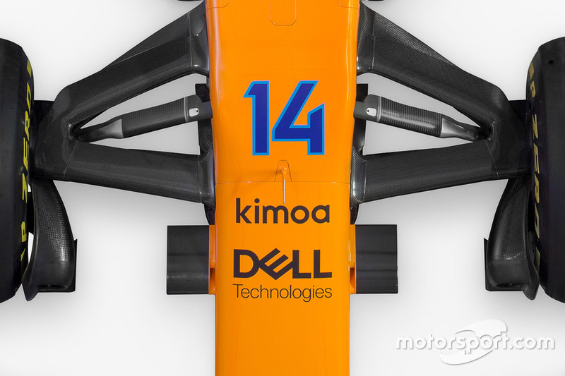 McLaren MCL33 ön süspansiyon detay