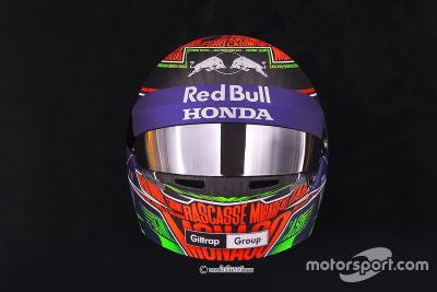 Hartley Monaco helmet unveil