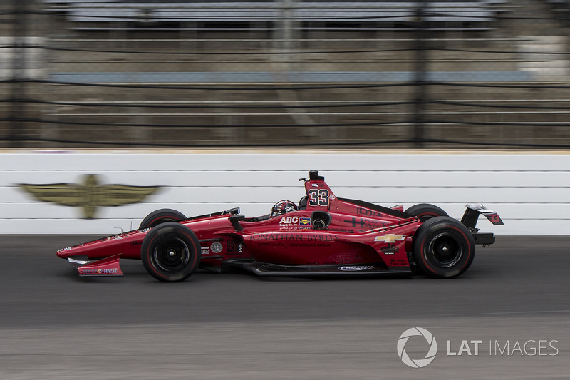 DNF: James Davison, A.J. Foyt Enterprises with Byrd / Hollinger / Belardi, Chevrolet
