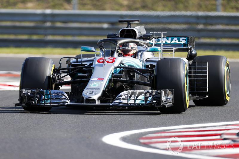 Джордж Расселл, Mercedes AMG F1 W09