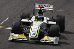 Jenson Button, Brawn GP BGP001 viert feest