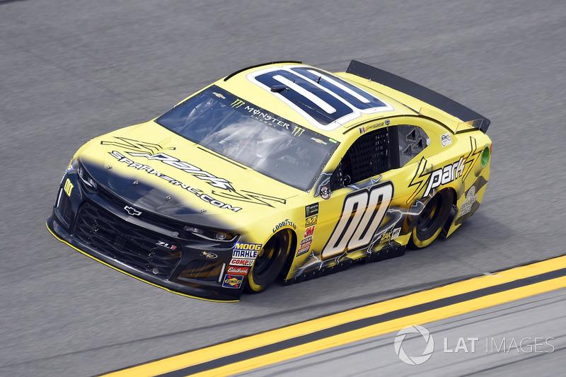 Joey Gase, StarCom Racing, Chevrolet Camaro Sparks Inc.