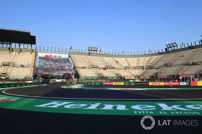 Vista del estadio y pista