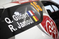 Quentin Gilbert, Renaud Jamoul, Citroën DS3 WRC, Abu Dhabi Total World Rally Team