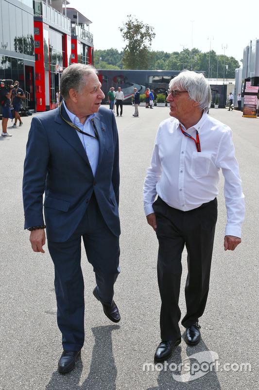Jean Todt, FIA Basşkanı ve Bernie Ecclestone