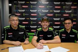 Tom Sykes verlängert beim Kawasaki Racing Team