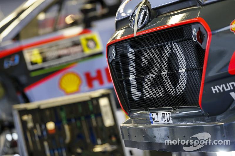 Detay, Hyundai i20 WRC, Hyundai Motorsport