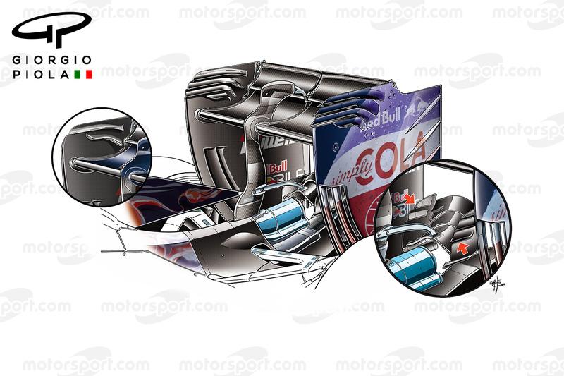 Toro Rosso STR11: Heckflügel und Monkey-Seat