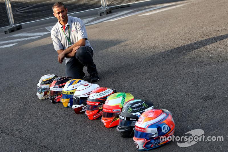 Michael Aumento, Bell Helmets Technician