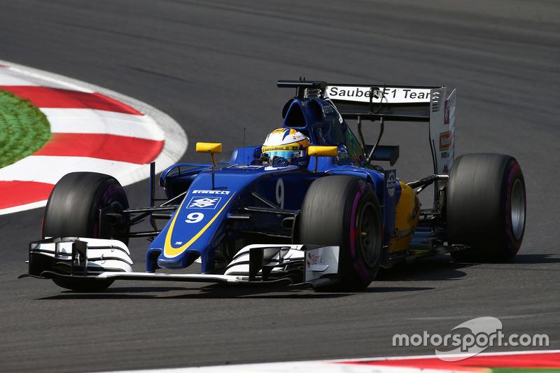 17: Marcus Ericsson, Sauber C35