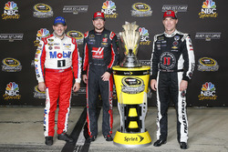 Stewart-Haas Racing drivers: Tony Stewart, Kurt Busch, Kevin Harvick