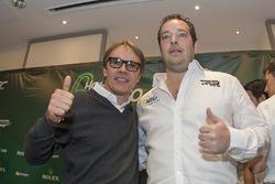 Ex piloto Adrian Fernández y Ricardo González, RGR Sport