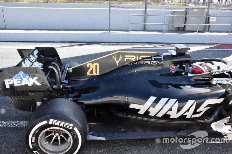 Haas F1 Team VF-19 technical detail