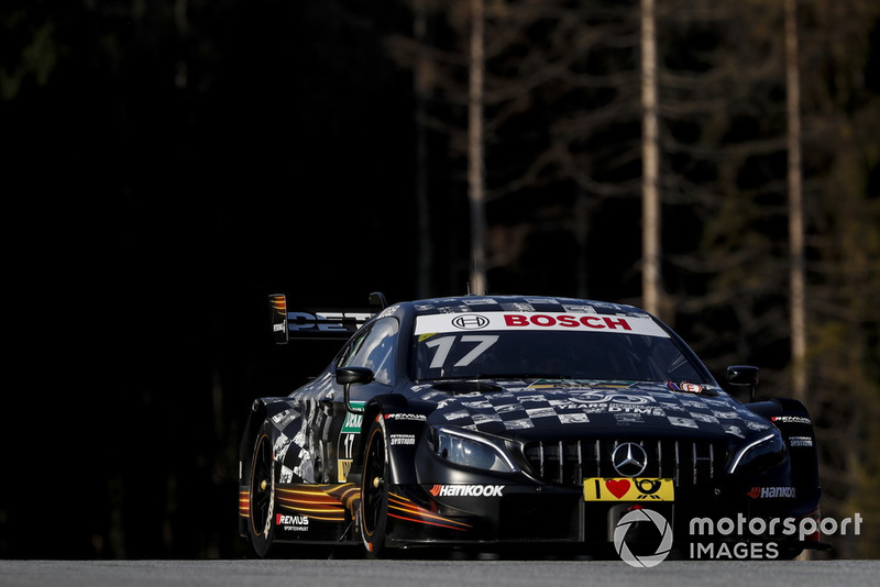 13. Sébastien Ogier, Mercedes-AMG Team HWA, Mercedes-AMG C63 DTM